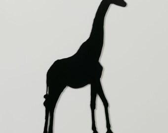 Giraffe 3 Silhouette - Metal Wall Art - With Hanger - (MM5---)