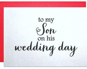 Son wedding gift | Etsy