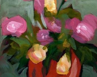 Print:022 - Red Vase