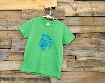 "Native American ""Chief"" Kid's T-Shirt"