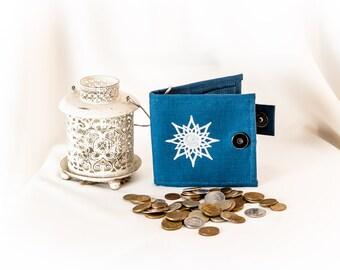 Elvish Pouch / Purse / Wallet - Valinor, Athelas, LOTR, Silmarillion