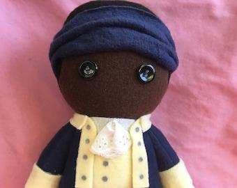 Hercules Mulligan Hamilton Musical Fleece Plush Doll