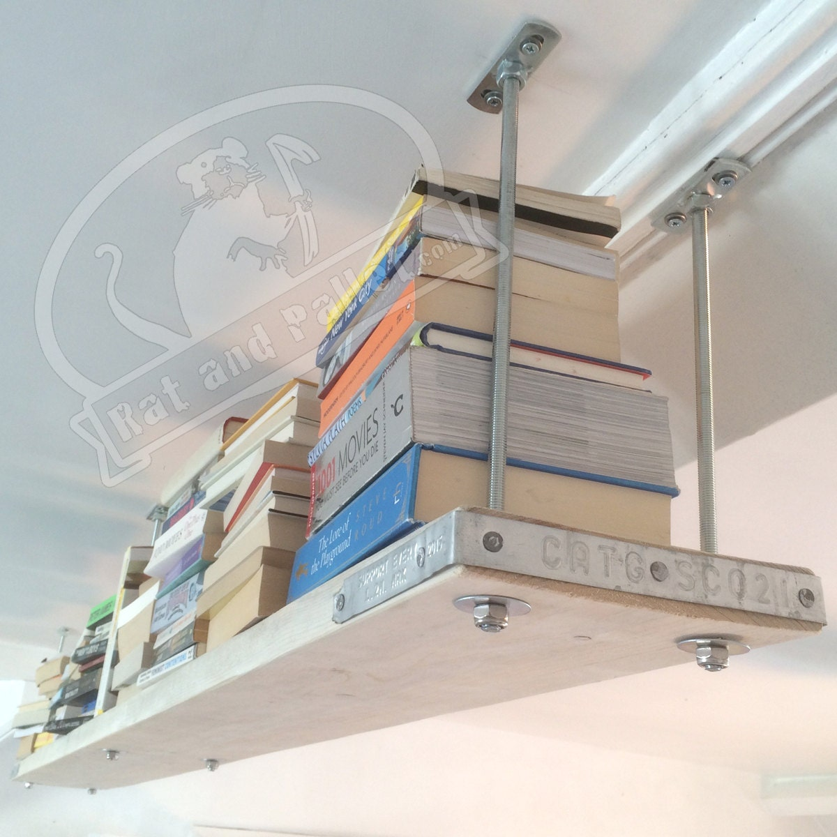 Suspended Shelves From Ceiling