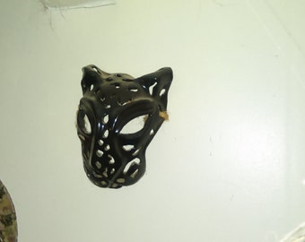 Black Spotted Lepard  Mask