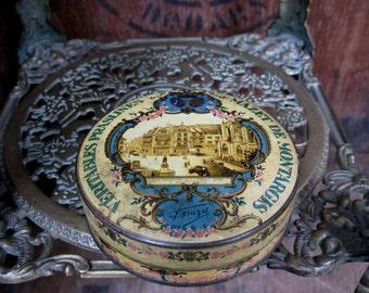 Praline Tin, French Vintage Tin, Bon Bon Tin, Decorative Tin, Vintage Tin, French Tin, Candy Tin, Sweet Tin, French Decor, French Vintage