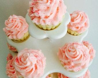 Santa's Sweet Love Cupcake Soap