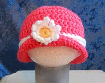 Baby's Crocheted Cloche Hat