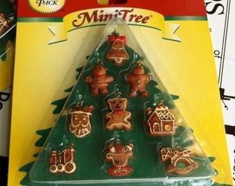 Mini Gingerbread Ornaments