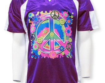 Peace Keeper Short-Sleeve Soccer Goalie Jersey
