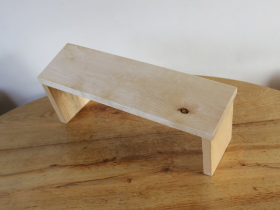 Folding Meditation Kneeling Bench Kneeling Prayer Wood Bench