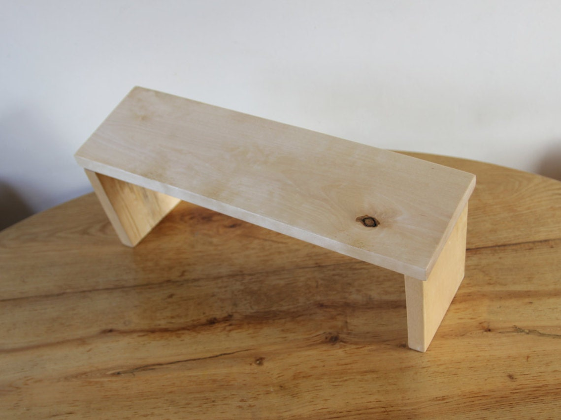 Folding Meditation Kneeling Bench Kneeling Prayer Wood Bench