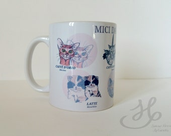 "40% OFF Cup ""Cats from"" digital print cats"