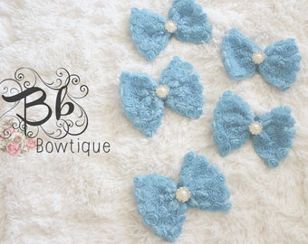Blue Bow-tie Headband