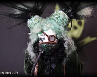 Mermaid Katrina Art Doll