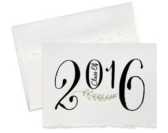 Graduation card congratulations 2016 grad high school grad college grad for new graduate greeting cards for newly grad blank card congrats