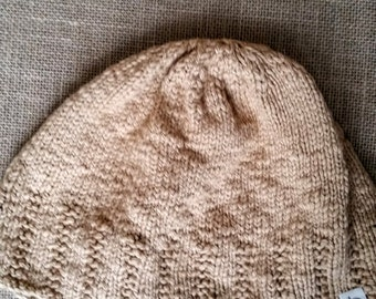 Slouchy Beanie Men // Grunge Clothing // Hand Knitted Items // Mens Cotton Winter Hat // Mens Slouch Beanie // Gifts for Boyfriends