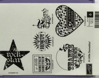 "Stampin' Up! ""A Little Somethin"""
