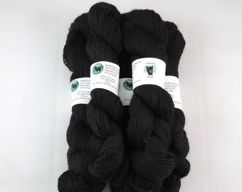 Alpaca Yarn, Sport Weight, Black
