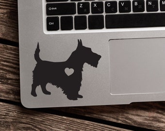 SUMMER SALE! Scottish Terrier Sticker Car Laptop Vinyl Decal Sticker