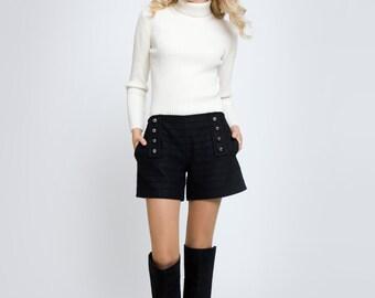 ELLE Wool an cashmere shorts