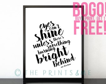 One Direction | Infinity Lyrics | Eyes can't shine | DIGITAL PRINT | Made In the AM