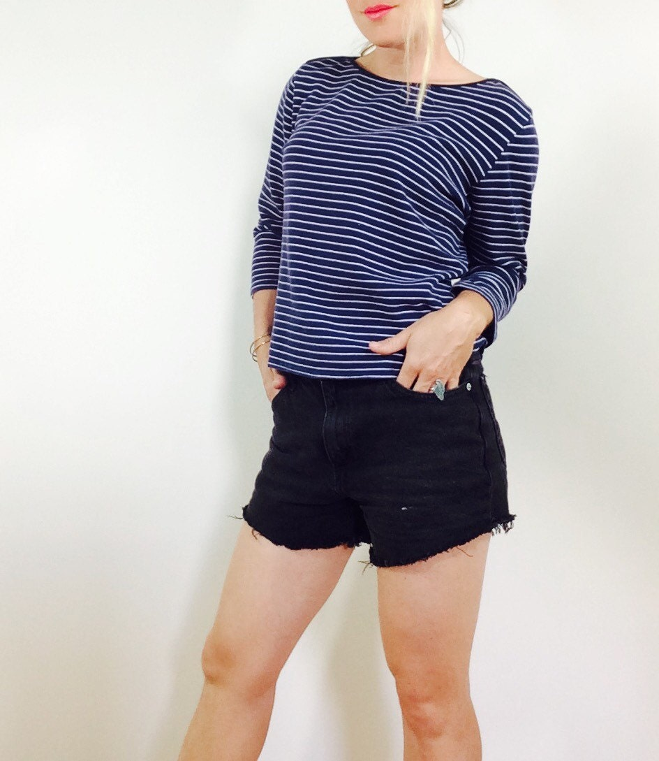 Reserved french striped shirt french shirt nautical shirt for Striped french sailor shirt