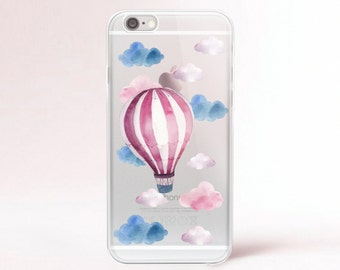 iPhone SE case Clear Transparent iPhone 6 case Clear iPhone 7 plus case iPhone 6s plus case iPhone 8 Case Samsung Galaxy 8 Plus Case Baloon