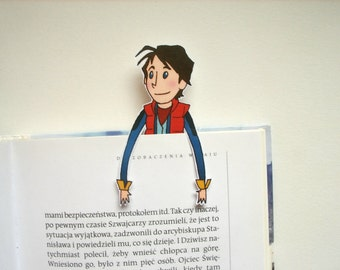 Back to the future - Marty Mcfly bookmark bttf