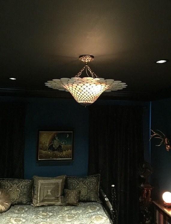 Ceiling Lamp Shade, Ceiling Lighting, Chandelier Lamp, Pendant Light, Pendant Light Vintage, Flush Light Fixture, Pendant Lamp Shade