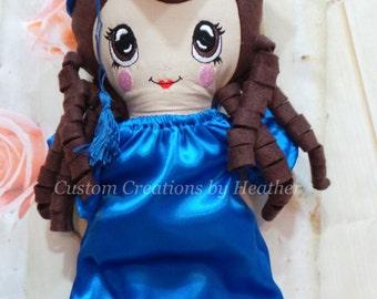 Handmade Custom Graduation Doll