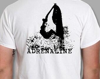 Jet ski t-shirt watersport ski adrenaline tshirt gift S - 5XL