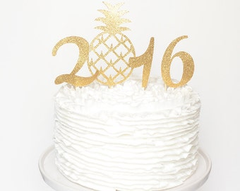2016 Cake Topper for New Year's Eve