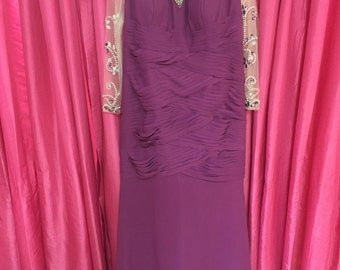 Mother Of the Bride Dress- Purple