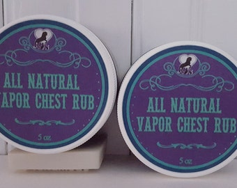 All Natural Vapor Chest Rub