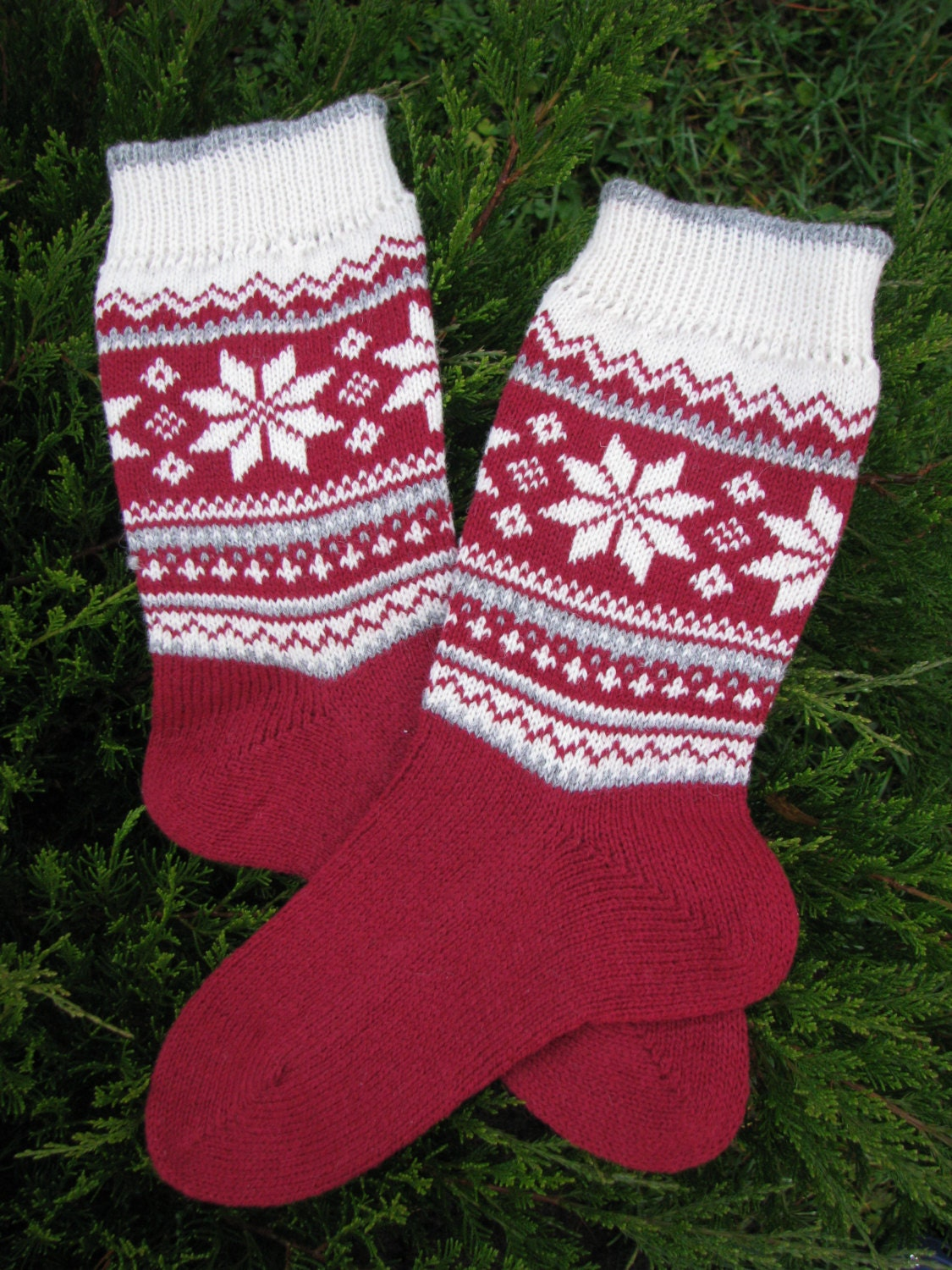 Knitting Pattern Wool Socks : knit socks wool socks knitted socks Scandinavian pattern