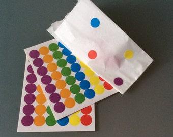 """Confettata"" polka dot bags"