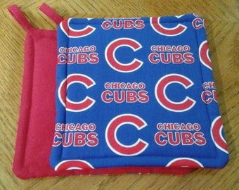 Chicago Cubs Potholders