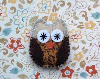 Felt Owl Magnet