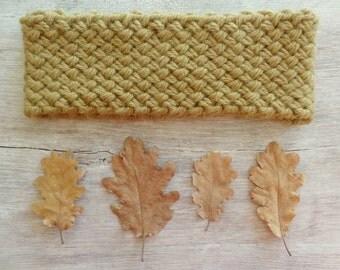 Autumn Headband - Green - Warm