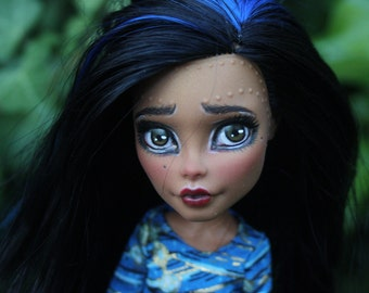 Monster high Nify doll repaint