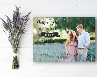 Personalised Printable, Save-the-Date-Printable Card - Beth Collection