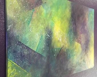 "SOLD** Custom ORIGINAL 24"" by 36"" Acrylic Painting"