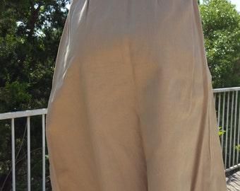 Lacoste IZOD for her Khaki Wrap Around Skirt  Alligator Skirt