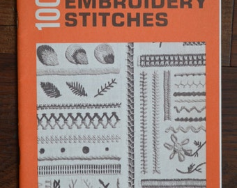 Vintage Coats & Clark's 100 Embroidering Stitches Booklet Number 150