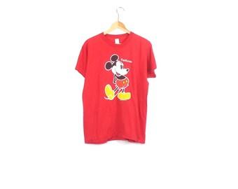 MICKEY MOUSE SHIRT // 90s // Mickey Mouse // Mickey Mouse T-Shirt // Mickey Shirt // Mickey Mouse Shirt // Mickey Shirt / Mickey Mouse Shirt