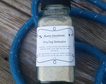 Dry Dog Shampoo, Oatmeal Dog Shampoo, Pet Products, Natural Dog Shampoo, Deodorizing Shampoo
