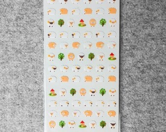 Cute small stickers - sheep