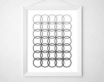 Circle Wall Decor circle wall decor | etsy