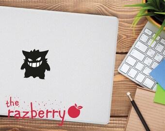 Pokemon Macbook Decal Macbook Sticker Gengar Macbook Decal Pikachu Macbook Decal Pokemon Gengar Macbook Decal Vinyl Team Rocket Macbook