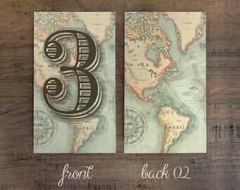 Nuestro Viaje Table Number - Nuestro Viaje Suite -